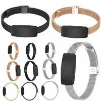 Metall Watch Band Armband Wrist Gurt Ersatz für Fitbit Inspire / Inspire HR Neu