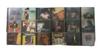 Country Music Lot of 18 Untested CDs SEE DESCRIPTION FOR TITLES