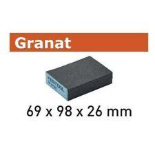 Festool Schleifblock 69x98x26 GR/6 Granat K 36 - 60 - 120 - 220 Schleifschwamm