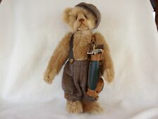 Mohair Harlan Golfer Bear Mac Animals MacClassic Collection Mac Pohlen