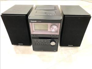 Panasonic SA-PM670SD SD stereo system 2008 Production Black operation check used