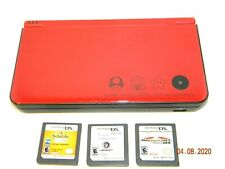 Nintendo DSi XL 25th Anniversary Limited Edition Handheld Gaming System +3 games