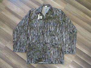 Vtg Men's NWT Military Gung Ho Realtree 4 Pocket Camo Light Jacket L Made USA