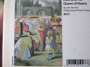 Wentworth wooden puzzle. 40 pieces. Alice & the Queen of Hearts