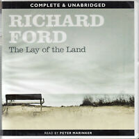 Richard Ford The Lay Of The Land 20CD Audio Book Frank Bascombe Trilogy FASTPOST