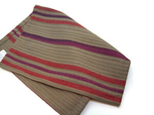 Pottery Barn Aubree Stripe Dinner Table Multi Colors Place Mat Set of 4 New
