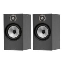 Bowers & Wilkins 606 Standmount Speakers - Matte Black