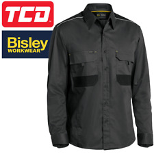 Bisley Workwear Flex & Move Long Sleeve Mechanical Stretch Shirt