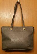 Bueno Faux Leather Gray Handbag