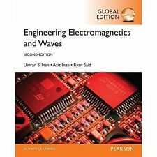 3 Days Aus Engineering Electromagnetics and Waves 2e Umran Inan 2nd Edition