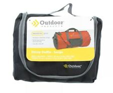 Outdoor Products 3454 Gym Utility Duffle Bag Sports Camping Luggage Black Large