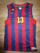Guyette Jr  #13 Spain Barca Barcelona Basketball Nike Jersey XL mens
