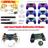 Light Board LED Modes for PS4 Wireless Controller with Rocker Cap Cross Key ABXY