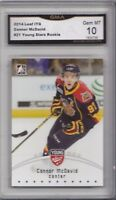 2014-15 Leaf ITG CHL Draft Young Stars Rookie # 21 Connor McDavid GMA Graded 10