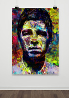 NOEL GALLAGHER BASED POSTER A3 SIZE - 29.7 x 42.0cm (11.7 x 16.5 in)