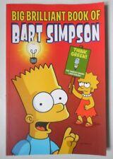 BIG BRILLIANT BOOK OF BART SIMPSON PB BOOK 2008 THE SIMPSONS MATT GROENING
