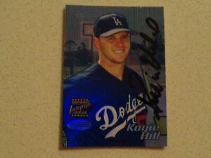 2002 Bowman's Best - Koyie Hill/ Dodgers Autograph #105