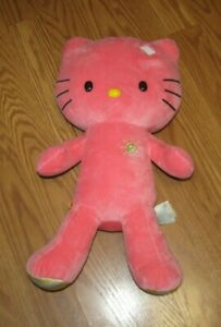 Build-A-Bear Plush Pink HELLO KITTY Sun Shine Stuffed Animal Toy 19'