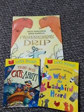 Julia Donaldson Tyrannosaurus Drip, What The Ladybird Heard And Cats Ahoy...