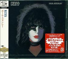 KISS PAUL STANLEY 2016 JAPAN SHM RMST CD - BRAND NEW/SEALED - FREE COMBINED S&H