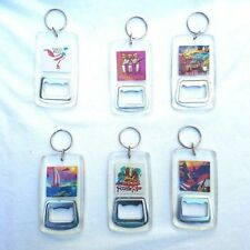 one assorted Puerto Rico Key Chain Bottle opener Souvenir Rican holder WHOLESALE