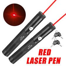 Military 2x Red Laser Pointer Pen 100Miles1MW 650nm Beam Light Lazer High-Power