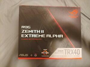 Asus ROG Zenith II Extreme ALPHA sTRX4 AMD TRX40 Ext ATX Motherboard