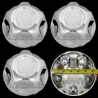 Set of 4 Ford 5 Lug Chrome Center Cap Wheel Cover Rim Hub Caps Small Middle Hubs