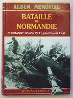 Album Memorial Bataille de Normandie Normandy Invasion 1988 Weltkrieg war WW2