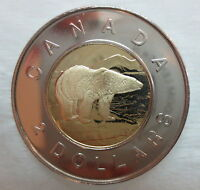 2000W CANADA TOONIE PROOF-LIKE TWO DOLLAR COIN