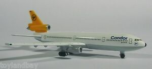 Herpa 500029 Condor Airlines McDonnell Douglas DC-10 1:500 Scale RETIRED 1997