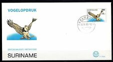 Suriname - 1993 Definitive bird overprinted - Mi. 1465 clean FDC