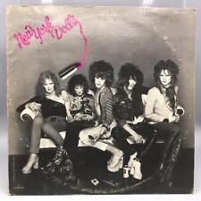 Vintage The New York Dolls Self Titled Record Album Vinyl LP
