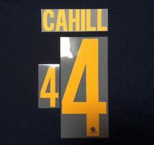 #4 CAHILL NAME NUMBER SET FOR 2014 WORLD CUP AUSTRALIA SOCCEROOS AWAY JERSEY
