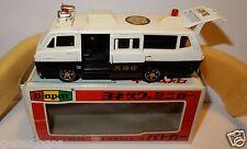 MADE JAPAN DIAPET YONEZAWA TOYS TOYOTA HIACE POLICE BUS 1975 REF 334 = P42 BOX a
