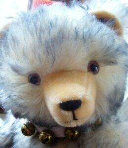 Teddy Hermann Hirschaid wunderschöner Teddybär 52cm mit gespitztem Mohair