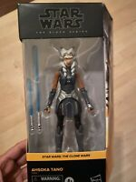 "Star Wars Black Series AHSOKA TANO Clone Wars 6"" Figure WALMART Exclusiv IN HAND"