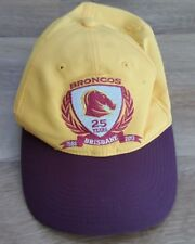 Brisbane Broncos 25 Years Cap Nike Dri Fit