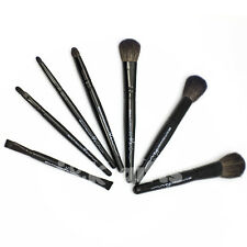 7 PCS Professional Makeup Eyebrow Shadow Cosmetic Brush Goat Hair Set Kit Case
