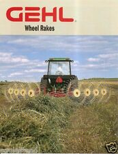 Farm Equipment Brochure - Gehl - WR 418 420 520 522 - Wheel Rake - 1996 (F1146)