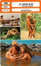 FICHE CINEMA : LE LAGON BLEU - Shields,Atkins,Kleiser 1980 The Blue Lagoon