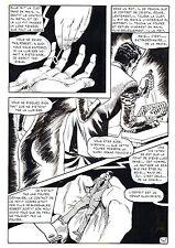 LE VENTRILOQUE DE L'AU DELA (PLEYERS) PLANCHE ORIGINALE PAGE 147
