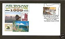 OREGON SESQUICENTENNIAL * 1ST DAY OF SALE * THE DALLES *