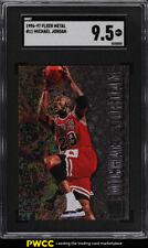 1996 Metal Basketball Michael Jordan #11 SGC 9.5 MINT+