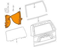For Toyota Genuine Window Regulator Rear Center 6980735030