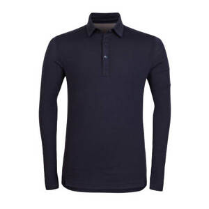 Rapha Merino Polo Shirt Dark Navy L/S BNWT Size XL