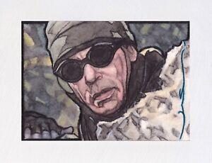 Stargate SG1 (Jack O'Neill) Original ACEO Sketch Card (Hand Painted 1/1)