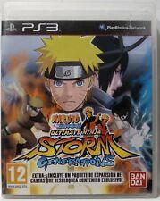 Naruto Shippuden Ultimate Ninja Storm Generations. Ps3. Fisico. Pal Es