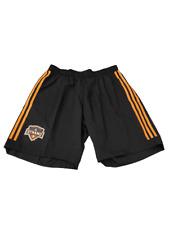 Adidas MLS Houston Dynamo Athletic Shorts Black/Orange Sz Large CE3304