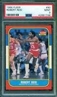 Robert Reid Card 1986-87 Fleer #90 PSA 9